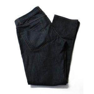 Theory Dark Blue Raffi P Flare Leg Jeans
